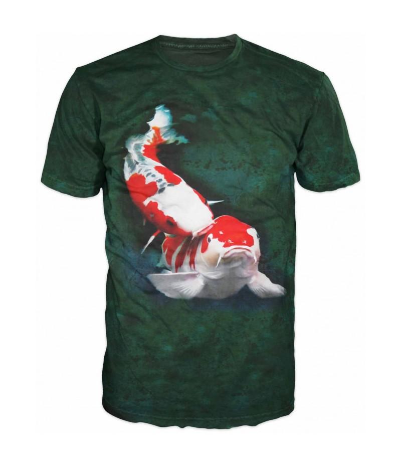 Риболовна тениска с китайски шаран
